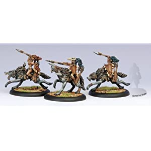 Privateer Press – Hordes – Circle Orboros: Tharn Wolf Riders Unit Box Model Kit