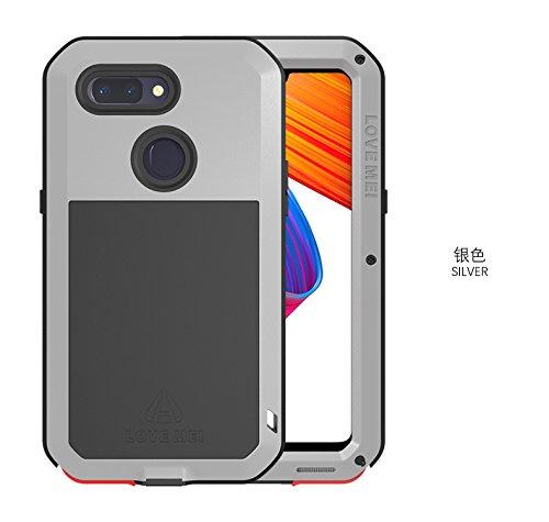 size 40 d380a b195f Amazon.com: Love MEI Oppo R15 Case, Oppo R15 Metal Case,Waterproof ...