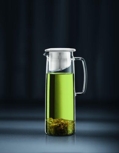 Bodum Biasca Ice Green Tea Jug, 40 oz, White by Bodum (Image #1)