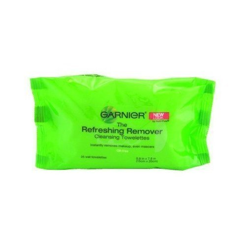Garnier SkinActive Clean+ Refreshing Makeup Remover Wipes, 2