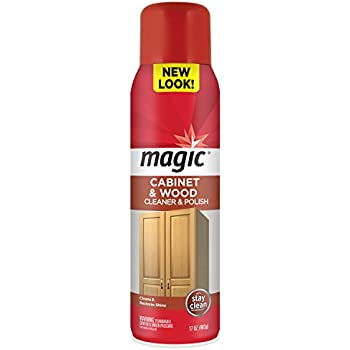 Amazon.com: Magic Cabinet & Wood Clean & Shine, 14 fl oz: Health ...