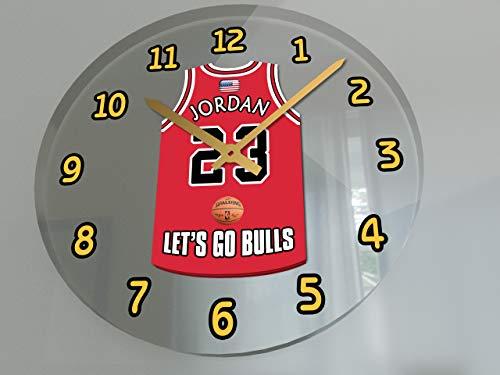 - FanPlastic Michael Jordan 23 Chicago Bulls Wall Clock - USA Basketball Legends Edition !!