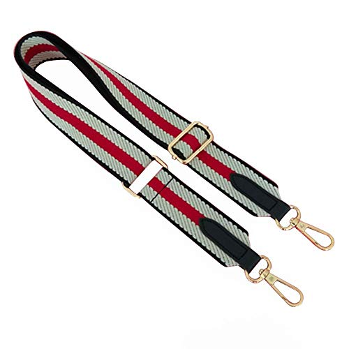 EUBUY Wide Shoulder Strap Replacement Adjustable Strap for Handbags Purse Crossbody Bag Black