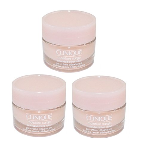 3pcs Clinique Moisture Surge Extended Thirst Relief 15ml X3= 45ml Lotion