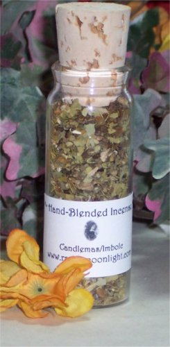 Raven Moonlight Hand-blended Incense: Candlemas/imbolc
