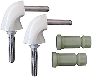 product image for Toilet Seat Hardware, 2 Hinges w/Nuts