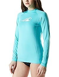 acc3c28bd619e Women's UPF 50+Swim Shirt Rashguard Long Sleeve FSR Series