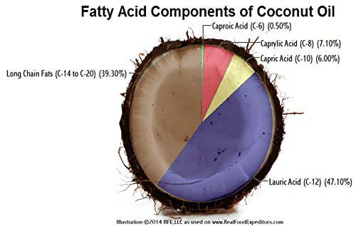 MiCkey T Eight Pure Caprylic Acid Triglyceride 8-carbon MCT Oil from Coconut/Palm Kernel, 32 Oz