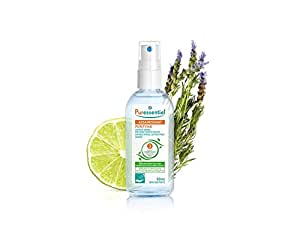 Puressentiel purifying antibacterial lotion spray hands with 3 essential oils, 80ml