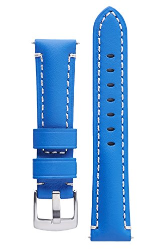 Light Blue Leather Band - 8