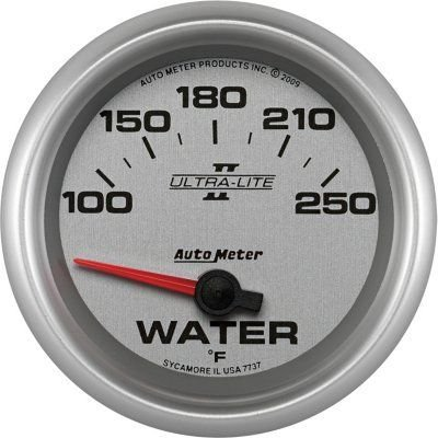 A48773725023-7737 - Autometer 7737 Water Temperature Gauge - Electric Air-Core, Universal (Metric Water Temperature Gauge)