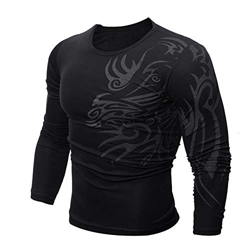 POQOQ Henley Shirts Men Short-Sleeve Lightweight Slub Casual Slim Fit Short Sleeve T-Shirts Cotton Dry Fit Long Sleeve Polo Golf Cotton XL -