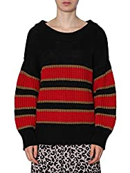 N??21 Women S A00375669000 Black Cotton Sweater