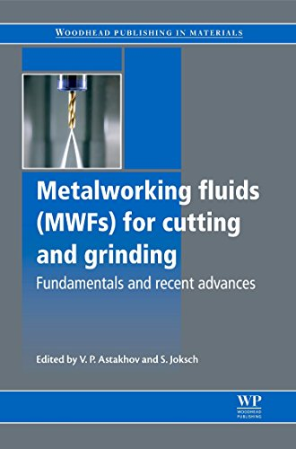 Metalworking Fluids  Mwfs  For Cutting And Grinding  Fundamentals And Recent Advances  Woodhead Publishing Series In Metals And Surface Engineering