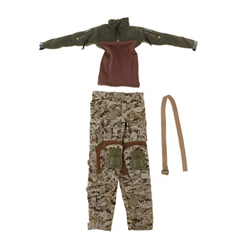Prettyia 1/6 Scale Elite Women Soldier Clothing Kit for sale  Delivered anywhere in USA