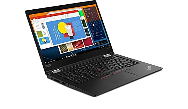 Lenovo ThinkPad X390 Yoga Black Hybrid (2-in-1) 33.8 cm ...