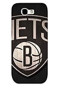 Cute Appearance Cover/tpu SXCKeEl225tNsdD Brooklyn Nets Nba Basketball (16) Case For Galaxy Note 2