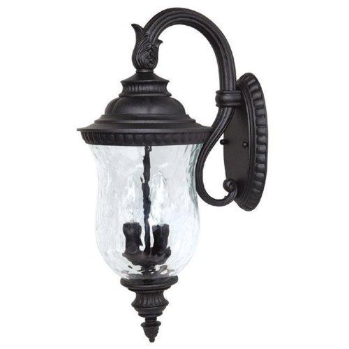 Hammered Glass Outdoor Lighting in US - 5