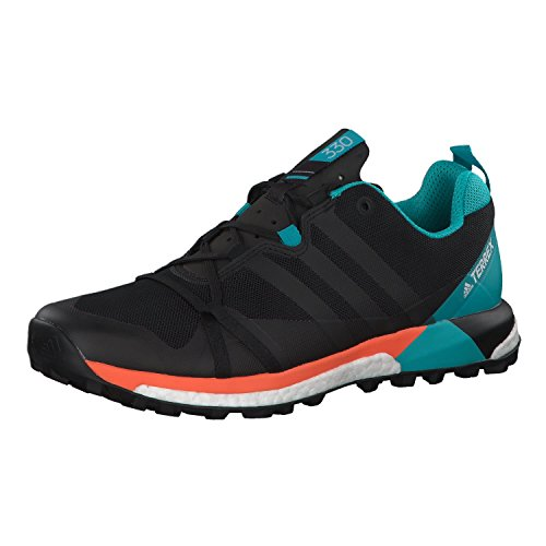 adidas Terrex Agravic, Scarpe da Trail Running Uomo Schwarz/Petrol