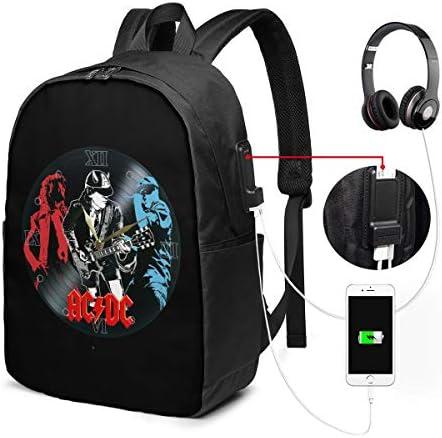 ビジネスリュック ACDC メンズバックパック 手提げ リュック バックパックリュック 通勤 出張 大容量 イヤホンポート USB充電ポート付き 防水 PC収納 通勤 出張 旅行 通学 男女兼用