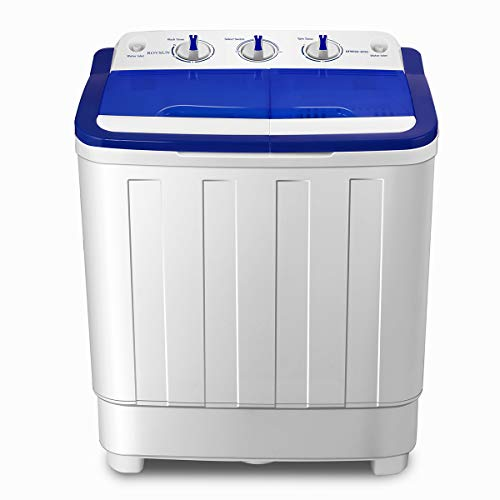 ROVSUN Portable Washing Machine with Twin Tub Electric Compa