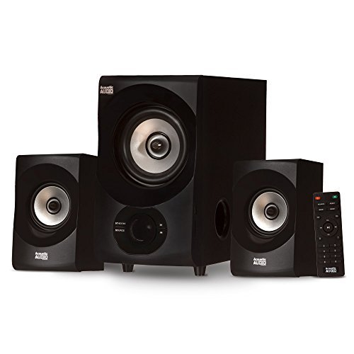 Acoustic Audio AA2171 Bluetooth 2.1 Home Speaker System with USB Multimedia by Acoustic Audio by Goldwood