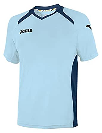 JOMA CHAMPION II SKY BLUE-NAVY SHIRT S/S XXL-3XL