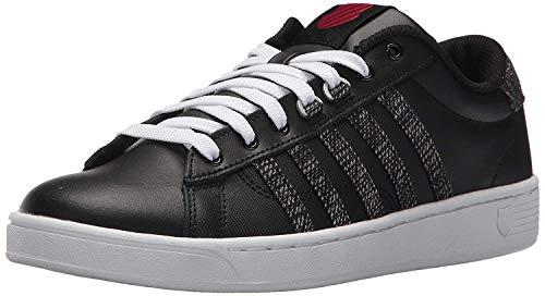 K-Swiss Women's Hoke CMF Sneaker, Black/White/Chili Pepper, 7.5 M US