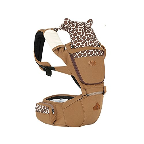 Animal Hipseat + Baby Carrier/THE DADS AWARDS SILVER WINNER-BEST BABY CARRIER (Camel)