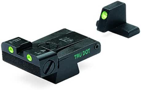 Meprolight Heckler & Koch Tru-Dot Night Sight for USP full size .40 and .45 caliber, Tactical & Expert. Adjustable set with green rear and front sight