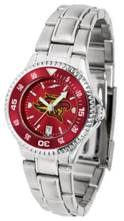 San Diego State Aztecs競合他社Anochromeレディース腕時計スチールバンドと色付きベゼル   B003N320RW