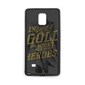 Assassins Creed Negro Bandera DI22DP5 funda Samsung Galaxy Note caja del teléfono celular 4 funda G0OL1X7XE