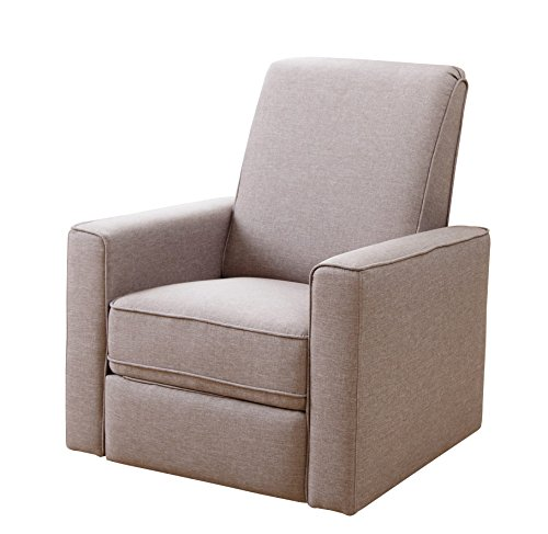 Beige Recliners Leather Amp Fabric