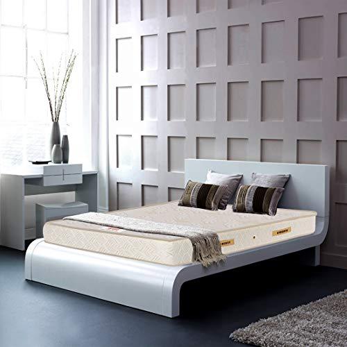 Coirfit Ortho Luxury Pocket 6 inch King Size Spring Mattress  White, 72x72x6