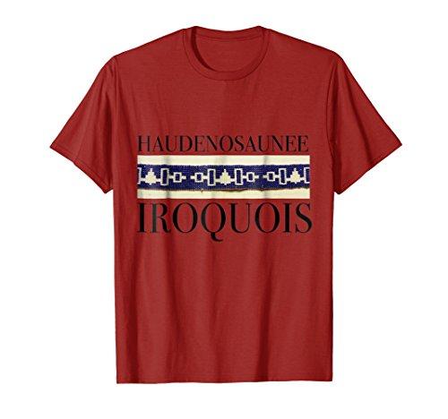 roquois Wampum T-shirt Small Cranberry ()