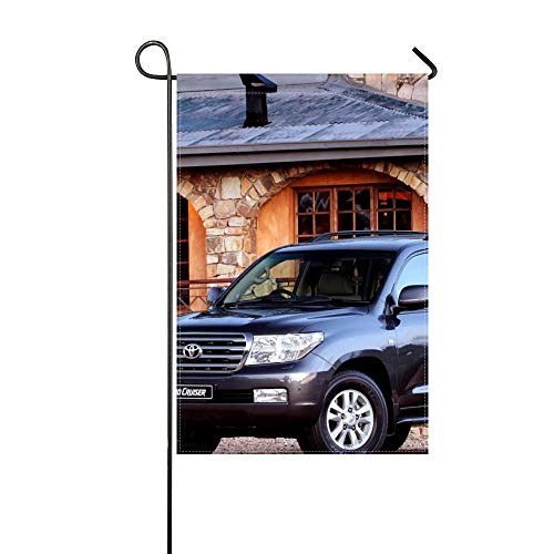 DongGan Garden Flag Toyota Land Cruiser 200 TLC 200 Japan Za Spec 12x18 Inches(Without Flagpole)