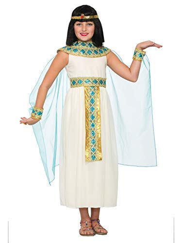 Forum Novelties Girls Queen Cleopatra Costume, White, Medium]()