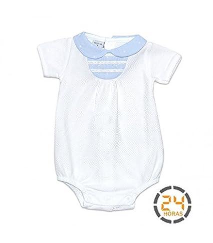 Pelele bebé manga corta BABIDU estrellas
