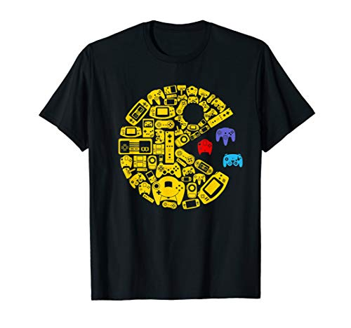 Video Game Controllers Pac-Man T-shirt for Adults or Kids