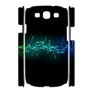 3D Samsung Galaxy S3 Cases Cool Sound Waves Ilike Com, Abstract Wave Cases Jumphigh, {White}