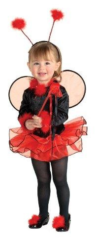 Ladybug Tutu Child Costume Size Small (4-6)