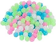 Luminous Bicycle Spoke Accessories,72 Pcs Kids Bike Colorful Sliding Bead Decorative Accessories (Colorful)