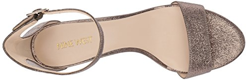 Women's Nine Dk Fashion Leisa Sandals Gold Mt West 544zqZxwS