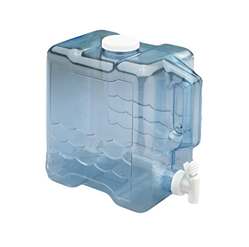 Arrow Home Products 00743 2 Gallon Slimline Beverage Container in Clear