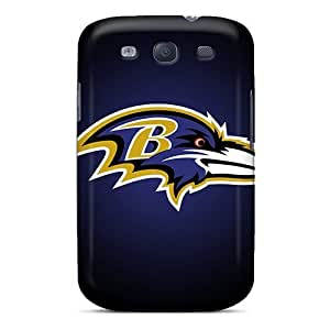 Galaxy S3 Cases Covers - Slim Fit Tpu Protector Shock Absorbent Cases (baltimore Ravens) wangjiang maoyi