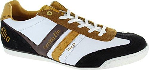 Pantofola dOro Vasto Uomo Low, Sneaker uomo bianco White