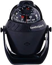 Boat Compass Dash Mount Flush - Car Compass Dashboard Suction - Navigation Marine Compass Boats Surface Mount