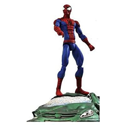 Diamond Select Marvel Spider-Man Action Figure: Toy: Toys & Games