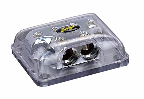 Stinger SPD514 PRO Series Power or Ground Distribution Block with ShocKrome Finish ()
