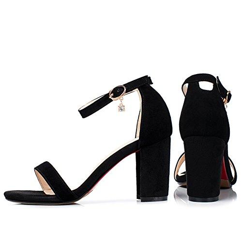 Ouvert HHS CO EU Femme Bout Noir 1802 Cociy Cw7Hp81qp